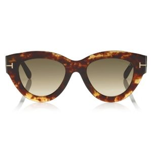 Tom Ford Slater 51mm Cat Eye Sunnies-New w/ Tags